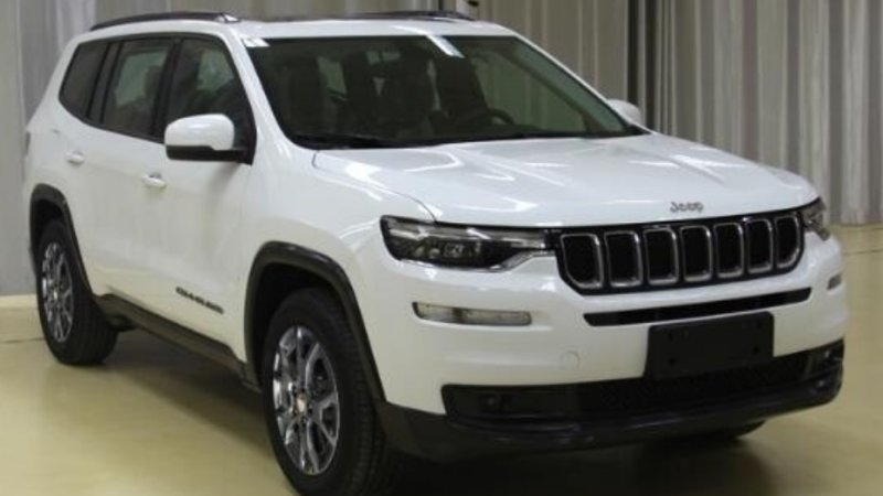 Jeep three-row Chinese SUV will be called Grand Commander