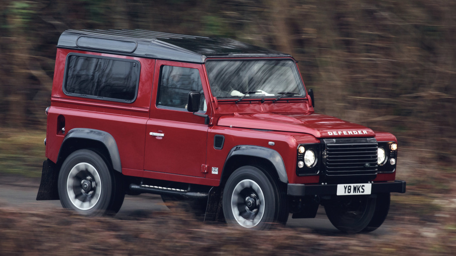 Land Rover Defender returns with a 400-hp V8 for a limited run