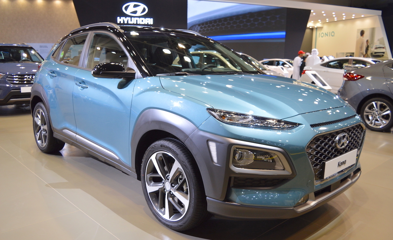 Hyundai kona to have indian debut at auto expo 2018 solutioingenieria Image collections