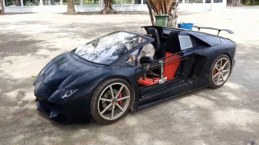 "This Motorcycle-Powered ""Lamborghini"" Is A Feat Of Ingenuity"