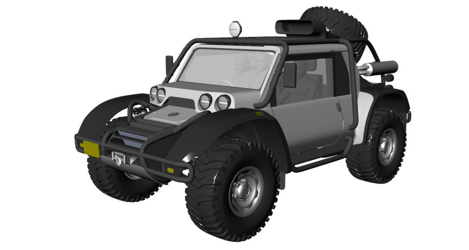 Scuderia Cameron Glickenhaus to build modern version of the Baja Boot