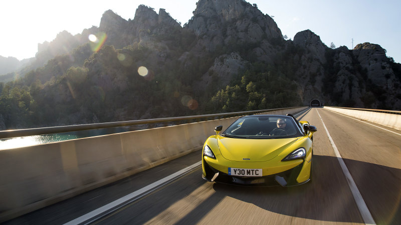 Future McLaren cars will be hybrids and autonomous