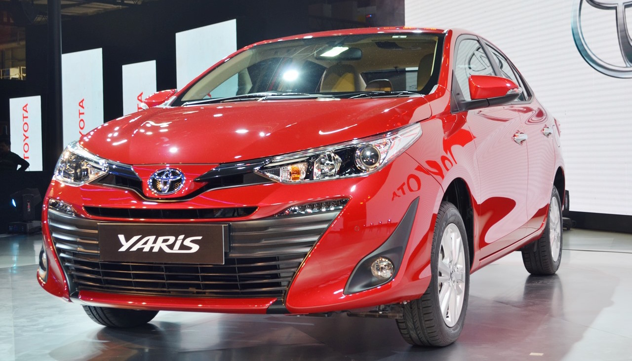 Toyota Yaris sedan – Auto Expo 2018