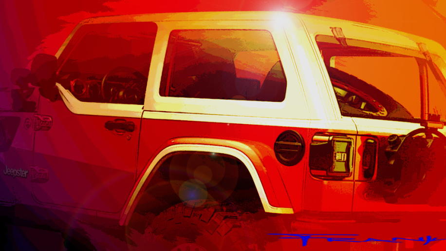 Jeep previews Easter Jeep Safari concepts, and one is called Jeepster