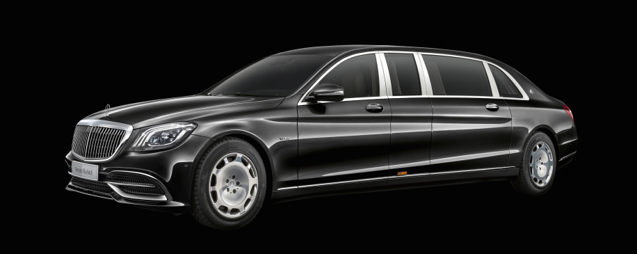 Mercedes-Maybach Pullman is the luxury car for the discerning dictator