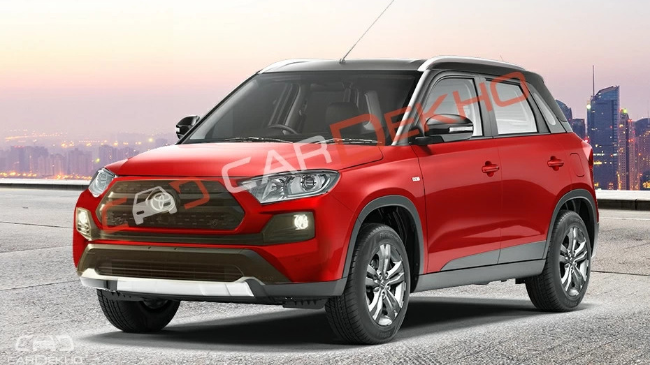 Here's another take on the Toyota Vitara Brezza