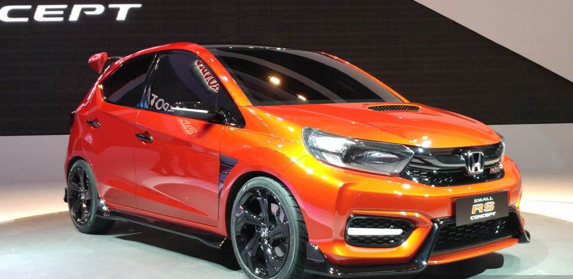 Next-gen Honda Brio previewed with the Honda Small RS Concept at IIMS 2018