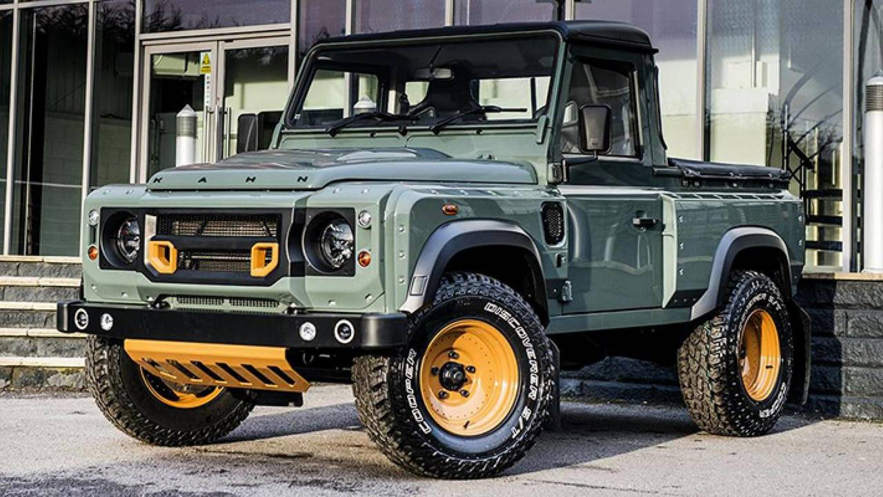 Land Rover Defender Pickup Single Cab Rumored For 2020 Launch