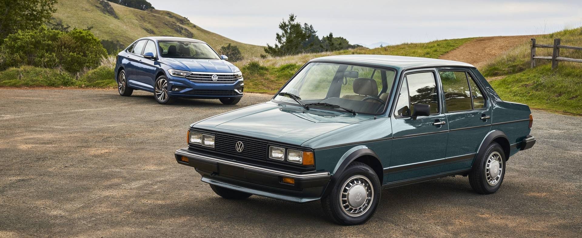 Vw compares 2019 jetta with the 1980 original for South motors vw service