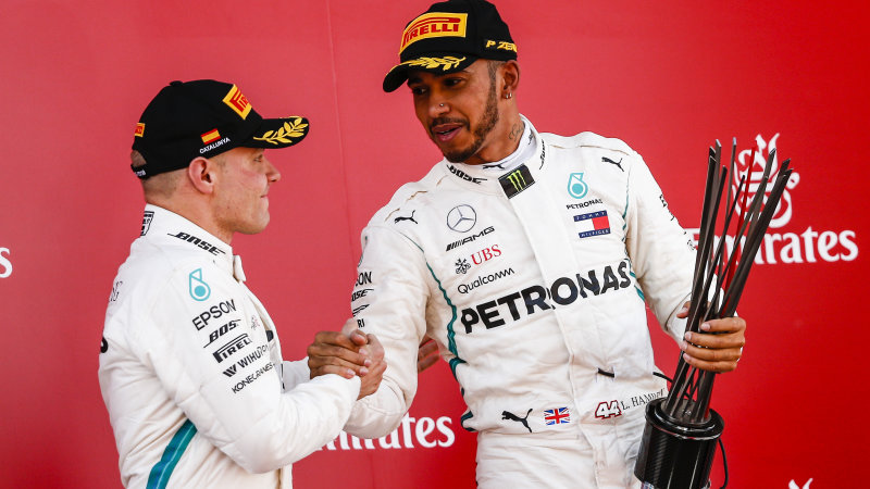Lewis Hamilton wins Spanish Grand Prix, takes 17-point lead over Vettel