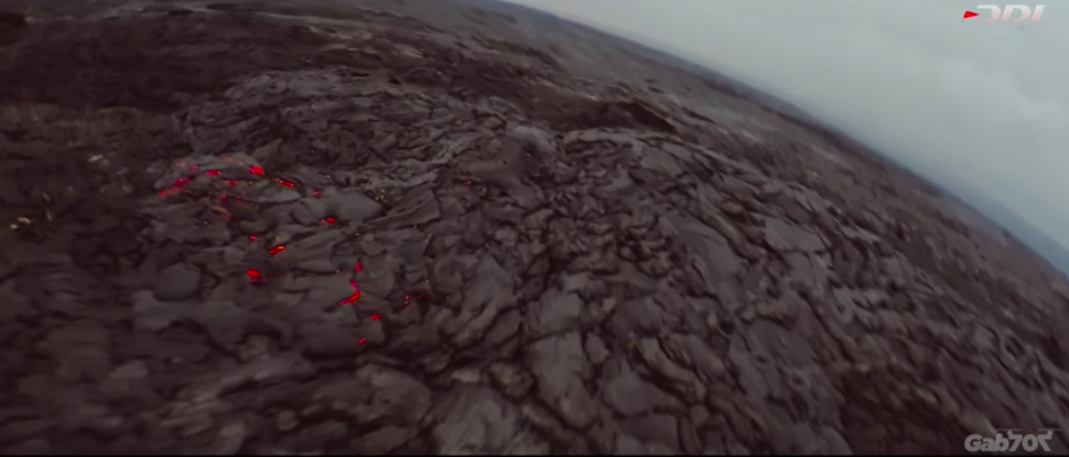 Drone Racing League pilot reveals an ominous overview of Kilauea