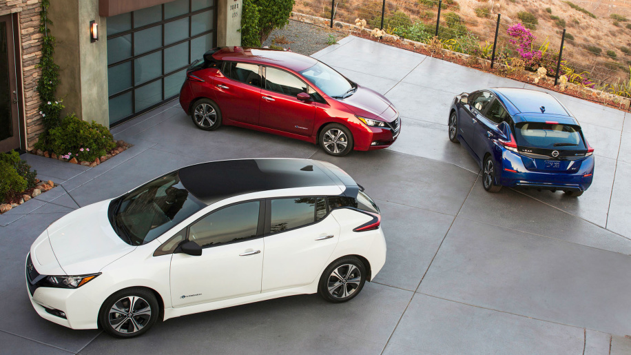 Nissan Leaf is Europe's best-selling EV