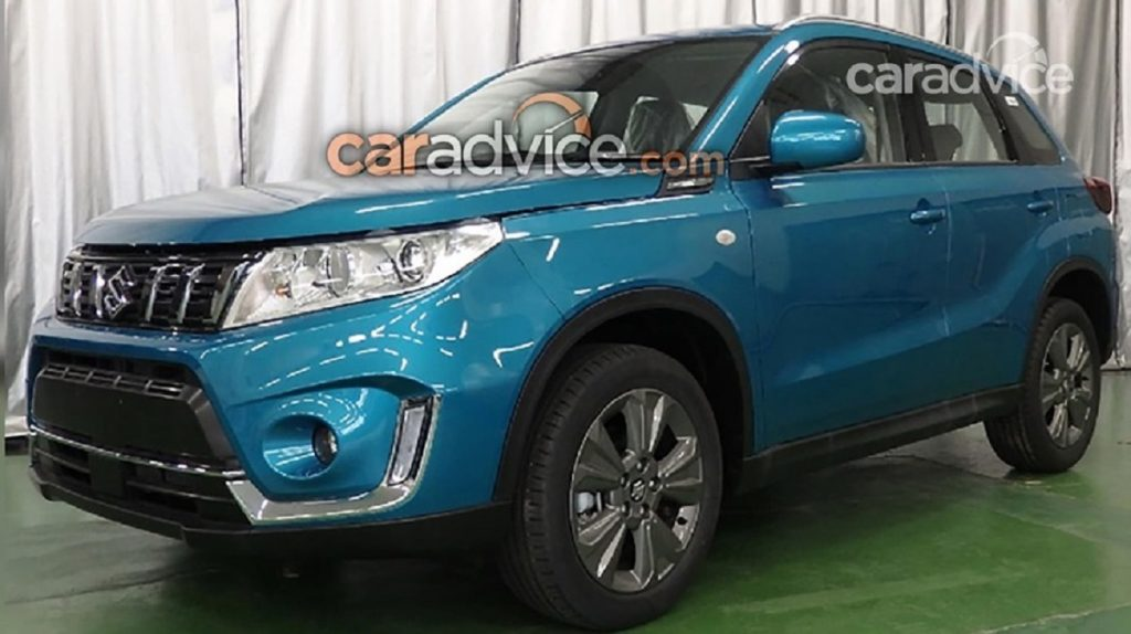 2019 Suzuki Vitara (facelift) leaked, could debut at 2018 Paris Motor Show