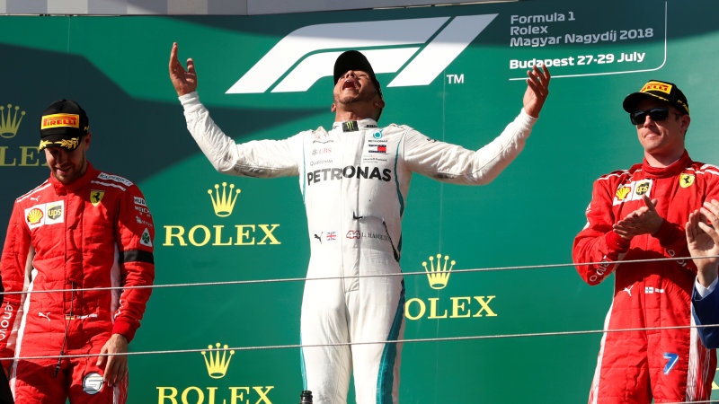 Lewis Hamilton wins in Hungary to stretch F1 title lead over Sebastian Vettel