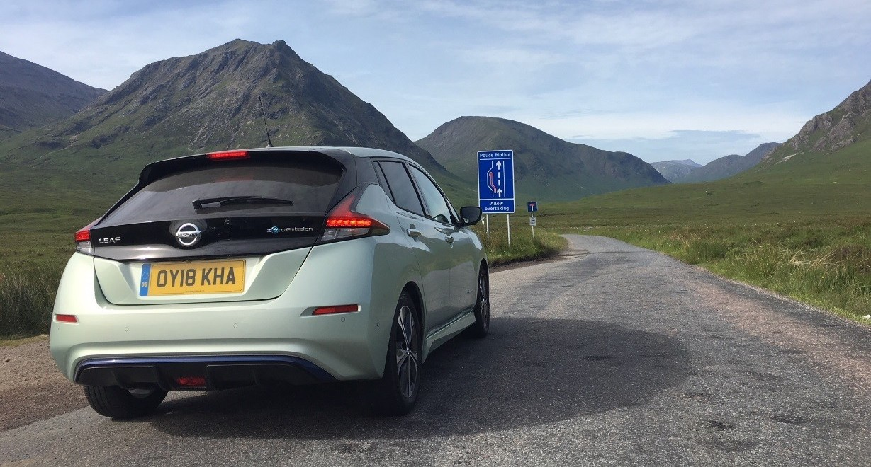 Nissan LEAF Joins Tesla Model S As Only Electric Cars To Complete This Challenge