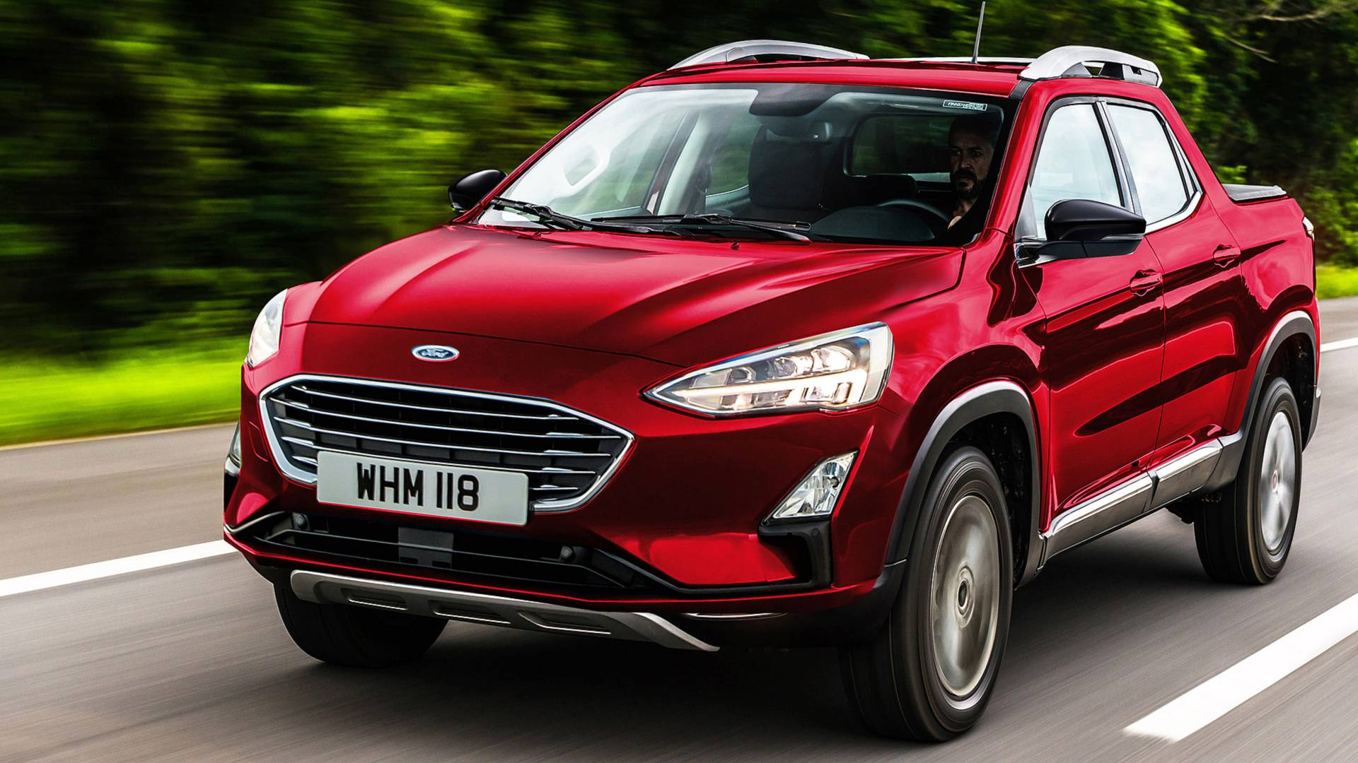 Ford Focus-Based Pickup Rumor Fueled By Courier Trademark Filing