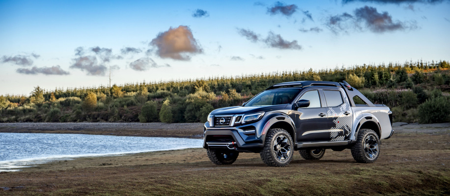 Nissan Navara Dark Sky Concept is coming to explore the galaxies