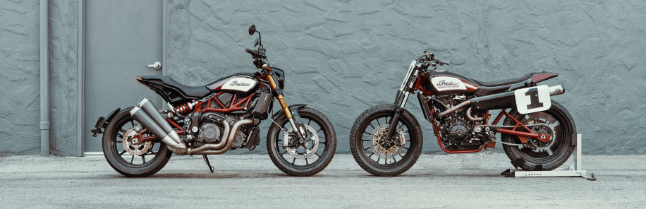 Indian introduces flat-track-inspired FTR 1200 motorcycles
