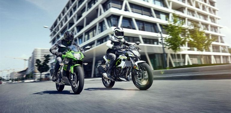 New Kawasaki Ninja 125 and Z125 unveiled at INTERMOT 2018