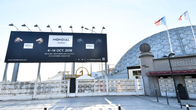 The mood at this year's Paris Motor Show: Quiet