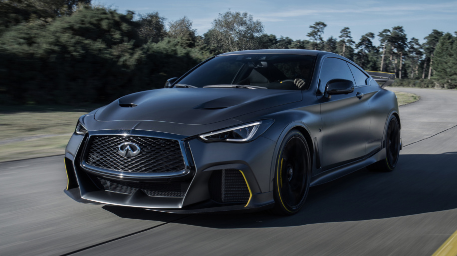 F1-inspired, 563-horsepower Infiniti Q60 Project Black S details finally revealed