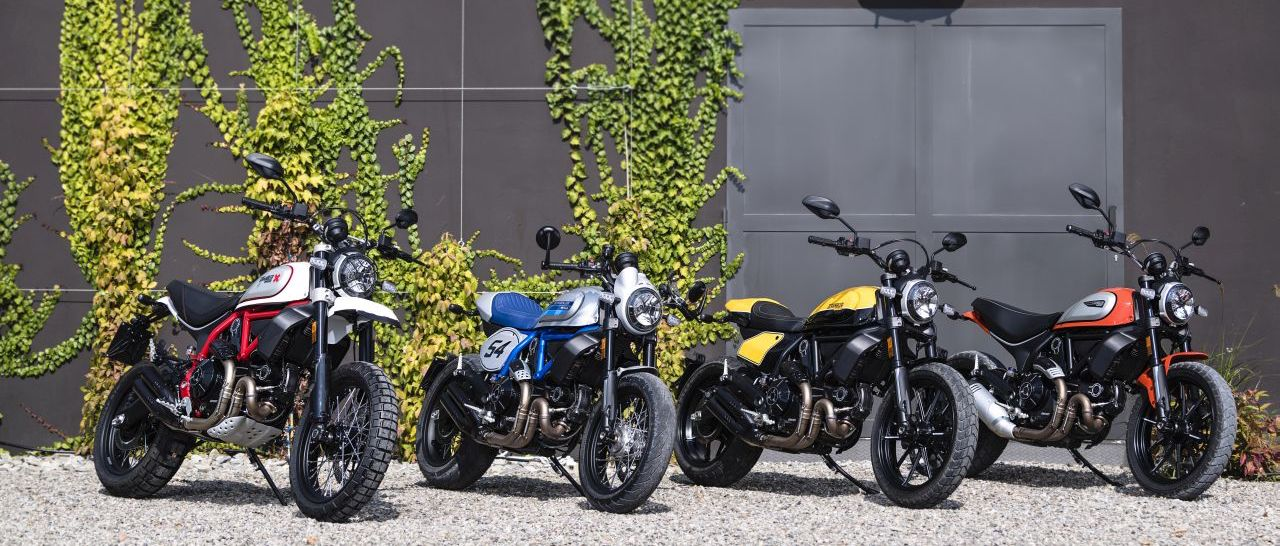 Three variants of Ducati Scramblers unveiled at INTERMOT 2018