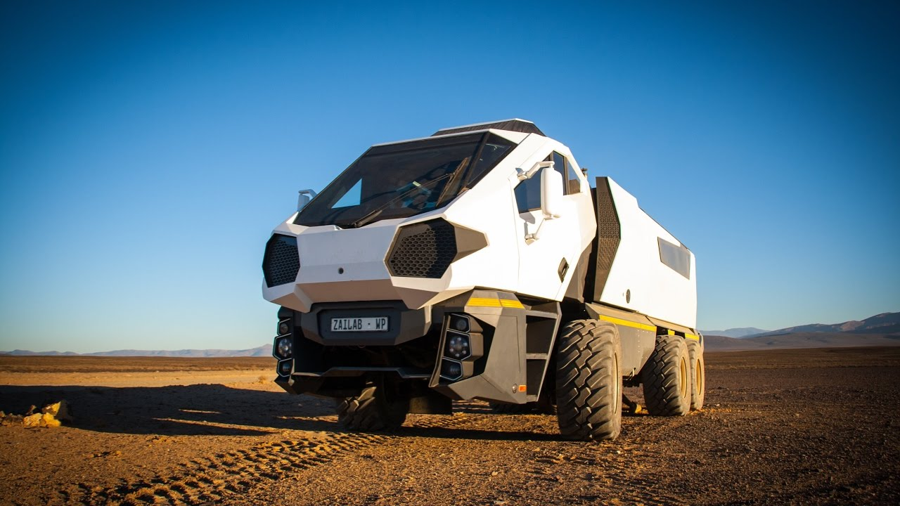 'Peculiar and outlandish' - the incredible SA-built ZaiTruck is completely road legal and perfect for surviving the apocalypse