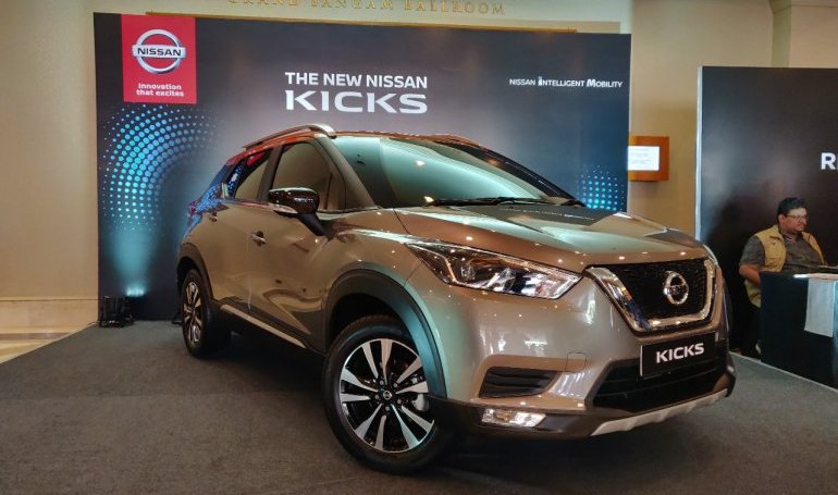 Indian-spec Nissan Kicks officially unveiled, will be launched in January 2019