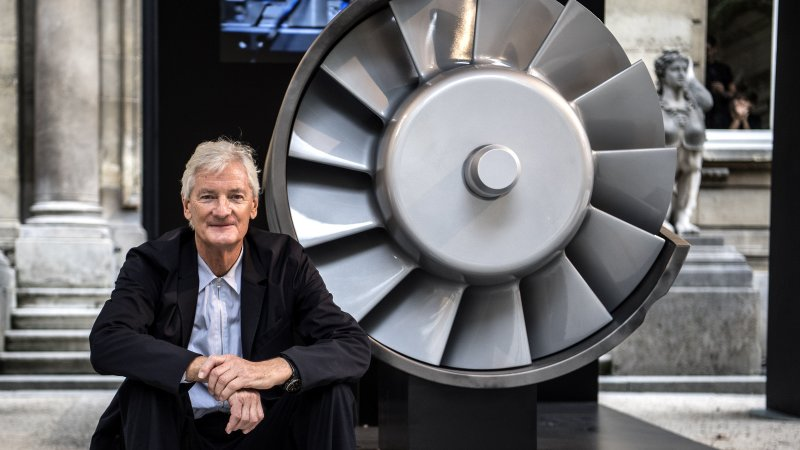 Why did Dyson pick Singapore to build its electric car?