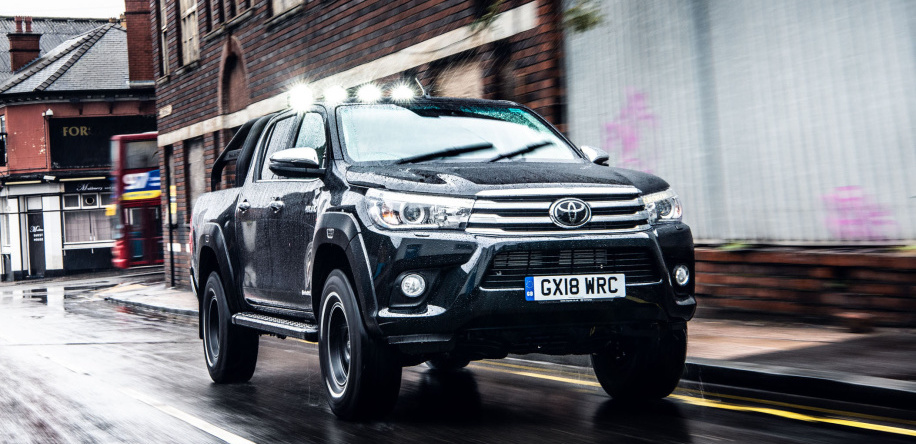 Toyota Hilux Invincible 50 Is an over-the-hill hill-climbing boss