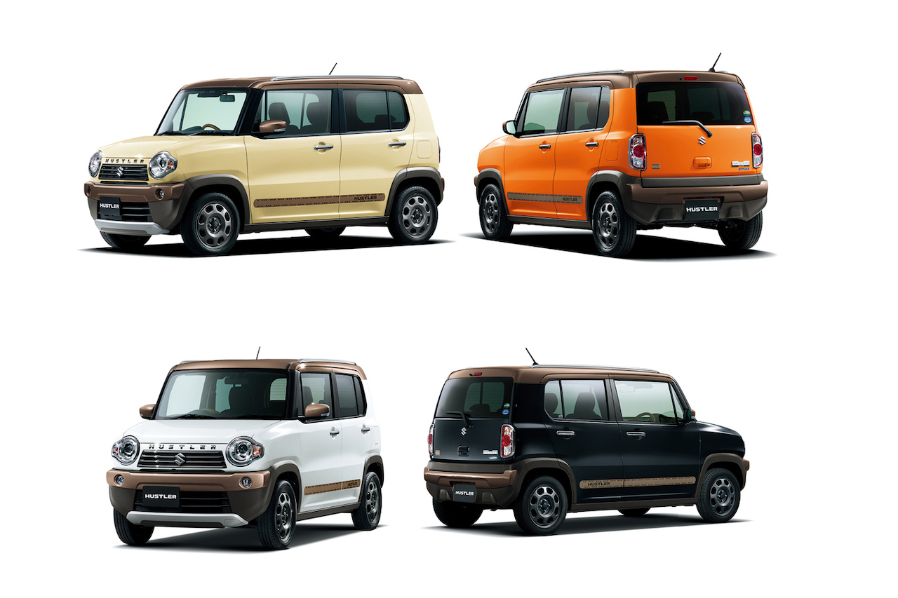 Suzuki Hustler Wanderer special edition model launched in Japan
