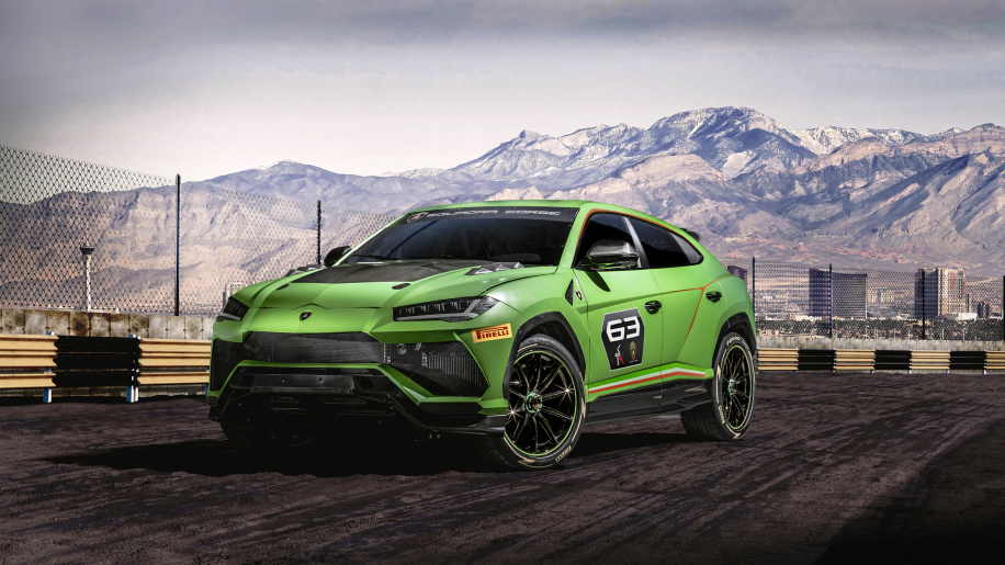 Lamborghini Urus ST-X will race in on- and off-road series in 2020