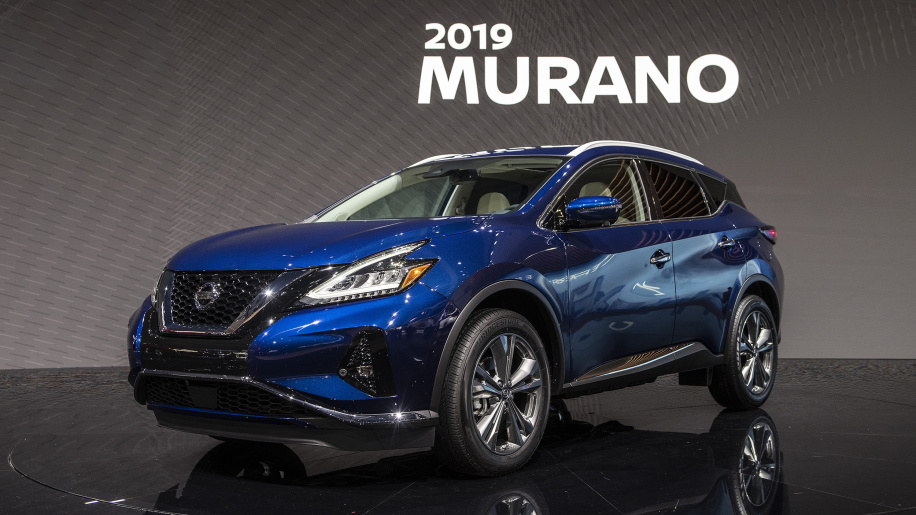 2019 Nissan Murano adds V-Motion grille, safety tech