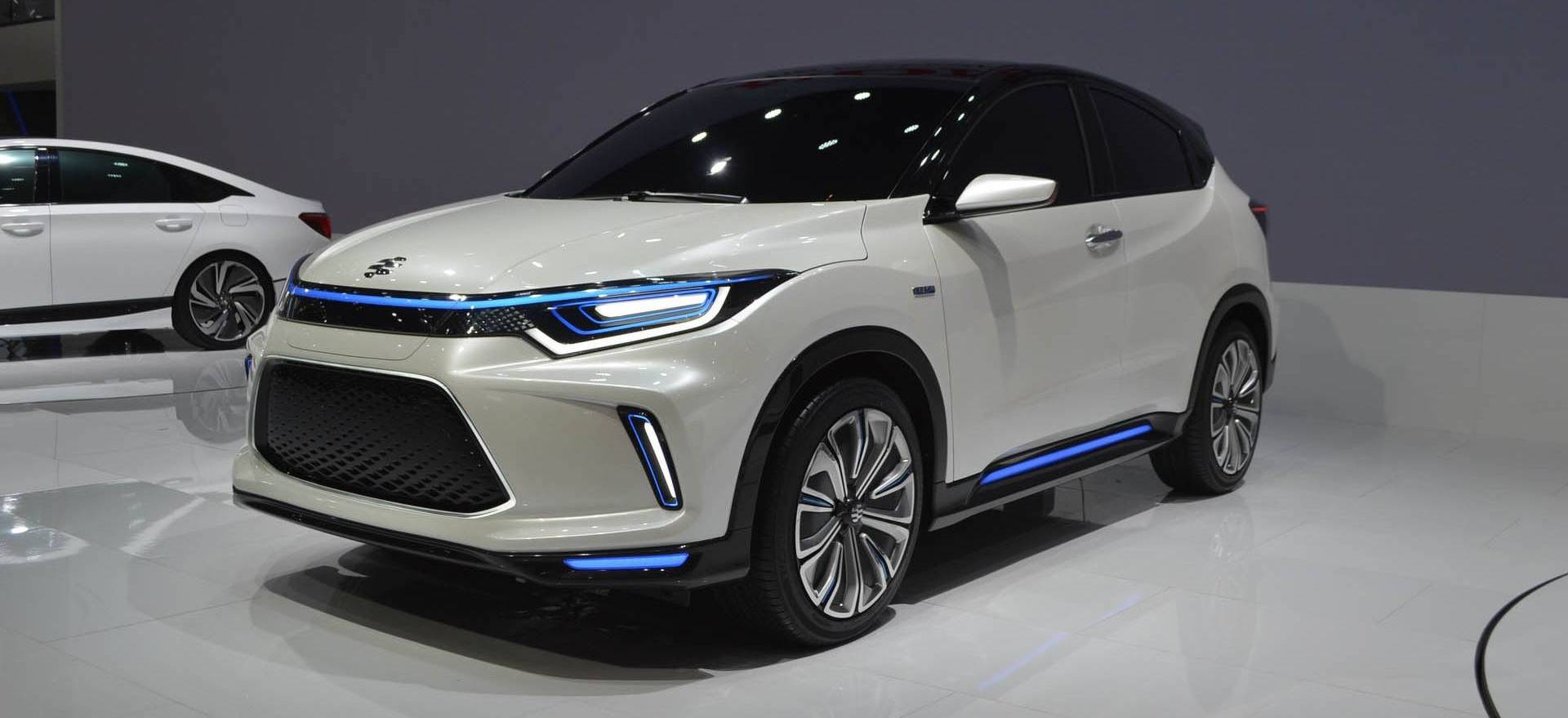 Honda Reveals Electric CUV With 53.6 kWh Battery Based On HR-V