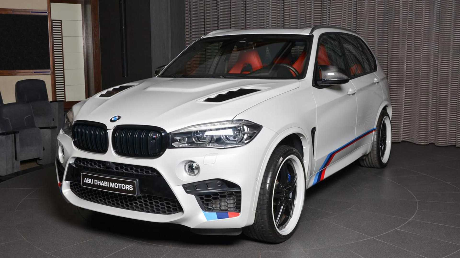 BMW X5 M Gets An Overdose Of Upgrades In Abu Dhabi
