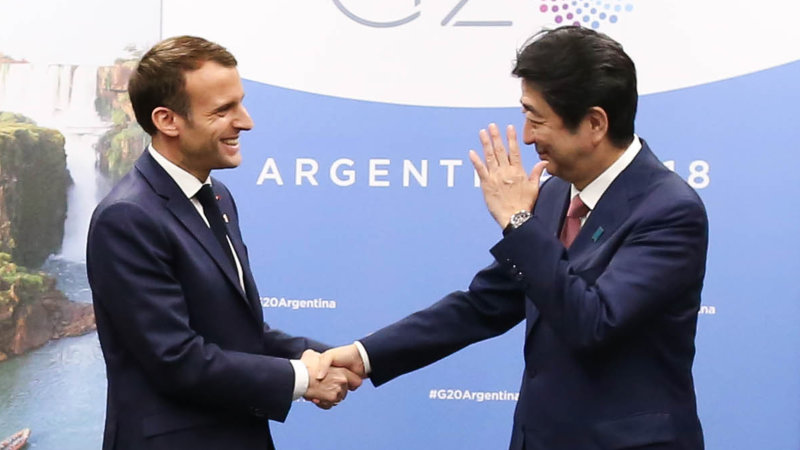 Macron and Abe seek to avert messy Renault-Nissan breakup