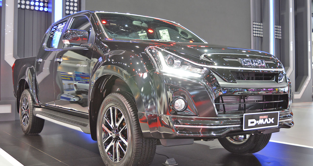 2018 Isuzu D-Max Stealth edition at the Thai Motor Expo