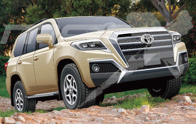 Next-gen Toyota Land Cruiser goes back to the drawing board