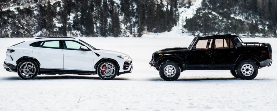 Lamborghini Urus vs LM002: The ultimate SUV shootout