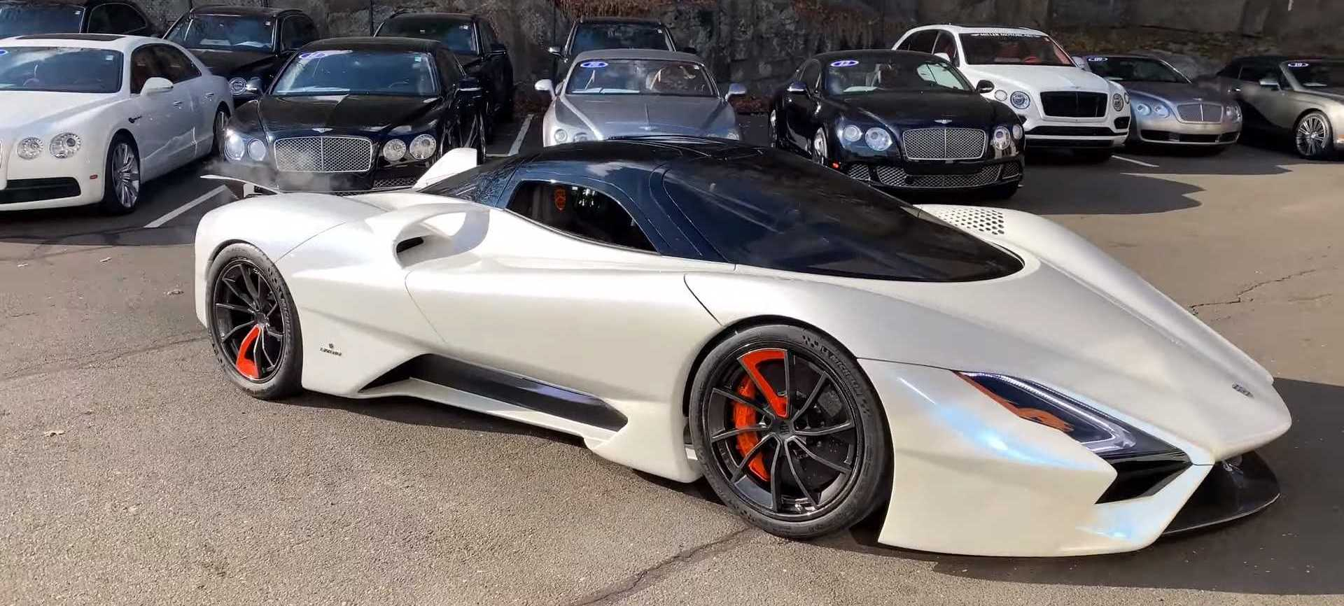 SSC Tuatara Looks Like A Spaceship In Walkaround Video