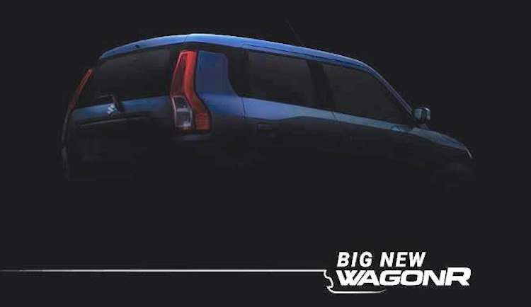 2019 Maruti WagonR teased, to be launched on 23 January