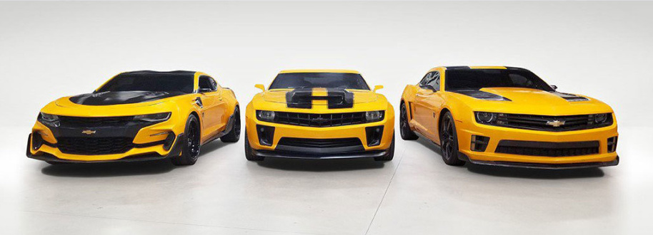 'Transformers' Bumblebee Camaros to be auctioned off at Barrett-Jackson