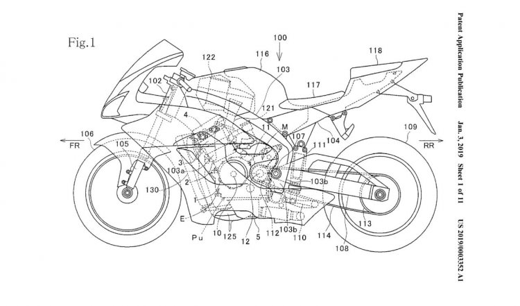 Honda Fireblade to get Variable Valve Timing technology, patents leaked