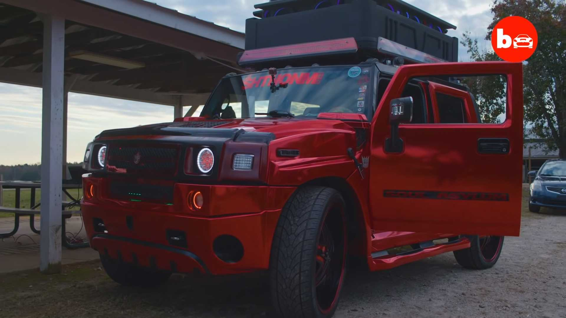 Crazy Hummer H2 Has 86 Speakers, Can Be Heard Almost 5 km Away