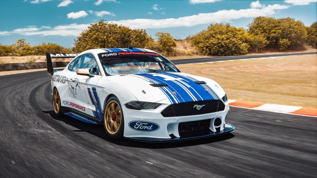 Ford Mustang Australia Supercars race car officially revealed