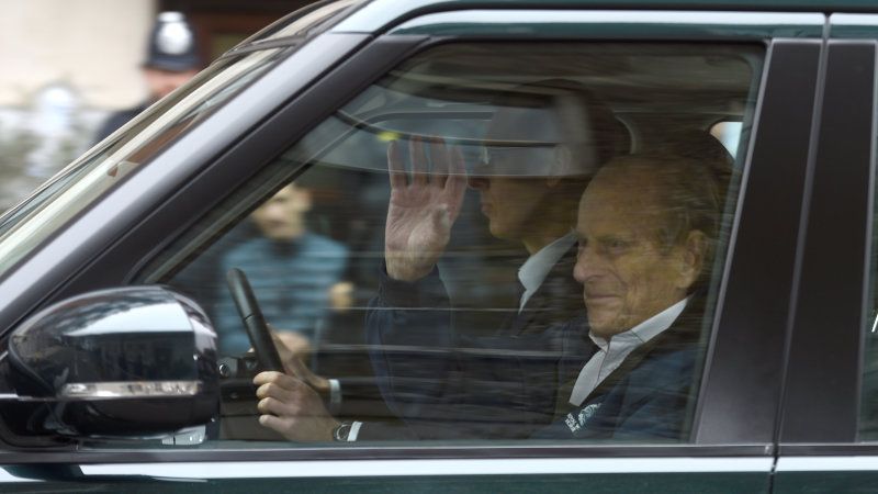 Britain's Prince Philip gives up driving license after crash