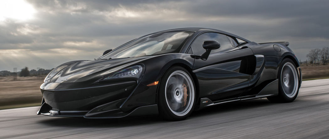Hennessey gives 2019 McLaren 600LT up to 1,000 horsepower