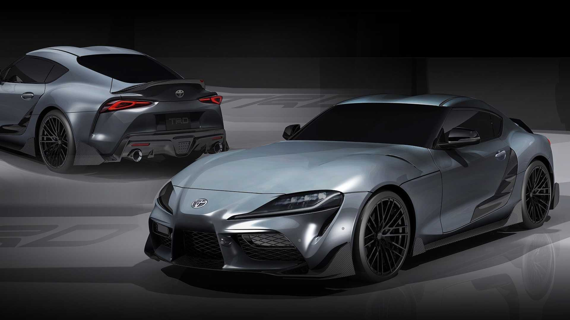 Toyota Supra TRD Concept Shows Its Racy Body On Camera