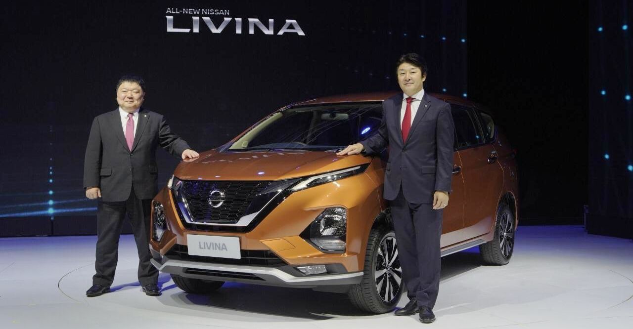 2019 Nissan Livina (Mitsubishi Xpander twin) officially unveiled