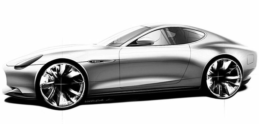 Piëch Automotive coupe images preview an electric car with a famous name